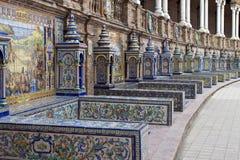 Palacio Espanol Imagen de archivo libre de regalías