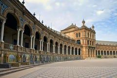 Palacio Espanol Stock Images
