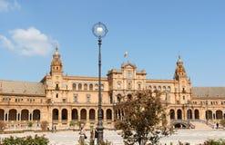 Palacio Espanol w Seville, Hiszpania Zdjęcia Royalty Free