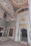 Palacio Estambul de Topkapi Imágenes de archivo libres de regalías
