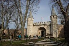 Palacio Estambul, Turquía de Topkapi imagen de archivo libre de regalías