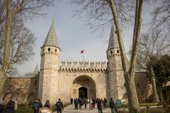 Palacio Estambul, Turquía de Topkapi fotografía de archivo libre de regalías