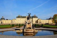 Palacio Estocolmo de Drottningholm Fotos de archivo libres de regalías