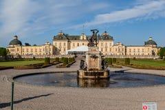 Palacio Estocolmo Suecia de Drottningholm Imagenes de archivo