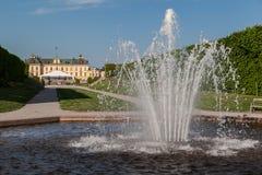 Palacio Estocolmo Suecia de Drottningholm Imagen de archivo libre de regalías
