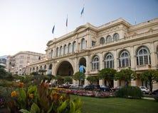 Palacio Europa en Menton Imagenes de archivo