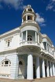 Palacio Ferrer, Cienfuegos, Cuba. Colonial Palacio Ferrer building located by the main square in the Cienfuegos city on Cuba Royalty Free Stock Images