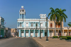 Palacio Ferrer in the historical center of Cienfuegos Royalty Free Stock Photography