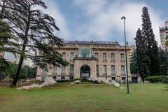Palacio Ferreyra - Evita Fine Arts Museum Museo Superior de Bellas Artes Evita - Córdova, Argentina imagem de stock