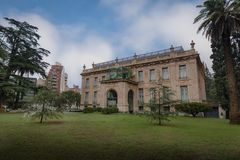 Palacio Ferreyra - Evita Fine Arts Museum Museo Superior de Bellas Artes Evita - Cordoue, Argentine images stock