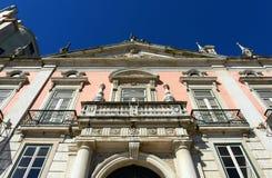 Palacio Foz, Restauradores Square, Lisbon, Portugal Stock Images