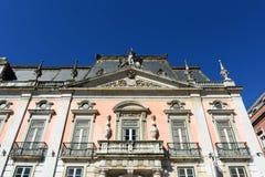 Palacio Foz, Restauradores Square, Lisbon, Portugal Royalty Free Stock Images