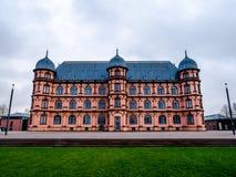 Palacio Gottesaue en Karlsruhe imagenes de archivo
