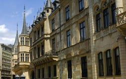 Palacio granducal Luxemburgo Foto de archivo