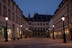 Palacio granducal, Luxemburgo Imágenes de archivo libres de regalías