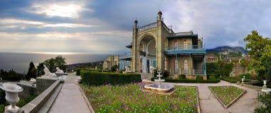 Palacio hermoso Fotografía de archivo libre de regalías