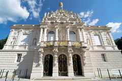 Palacio hermoso de Linderhof Fotos de archivo