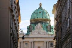 Palacio imperial de Hofburg en Viena Imagen de archivo libre de regalías