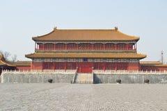 Palacio imperial de Pekín imagenes de archivo