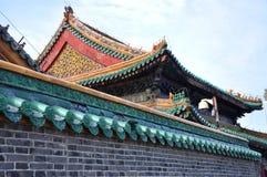 Palacio imperial de Shenyang, China Imagen de archivo libre de regalías