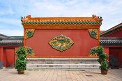 Palacio imperial de Shenyang, China Fotos de archivo