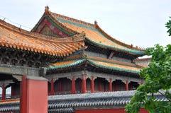 Palacio imperial de Shenyang, China Foto de archivo libre de regalías