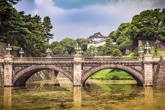 Palacio imperial de Tokio fotos de archivo