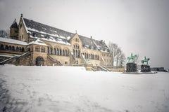 Palacio imperial Goslar Foto de archivo