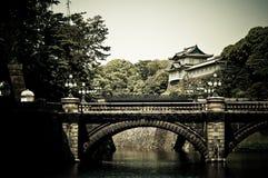 Palacio imperial en Tokio, Japón Foto de archivo