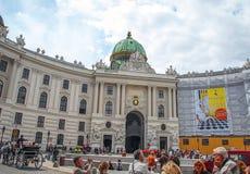 Palacio imperial Hofbur Imagen de archivo