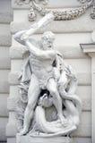 Palacio imperial Hofburg Foto de archivo libre de regalías