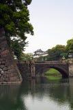 Palacio imperial japonés Foto de archivo