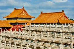 Palacio imperial la ciudad Prohibida Pekín China Foto de archivo libre de regalías