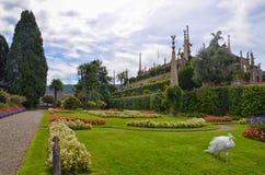 Palacio-Isola Bella-Italia 2 de Borromean Foto de archivo libre de regalías