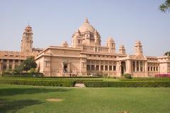Palacio Jodhpur de Umaid Bhawan foto de archivo