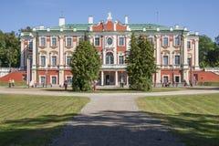 Palacio Kadriorg Fotos de archivo libres de regalías