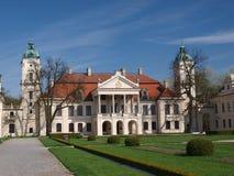 Palacio, Kozlowka, Polonia Foto de archivo libre de regalías
