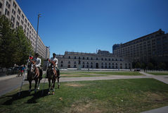 Palacio La Moneda in Santiago Royalty Free Stock Photography