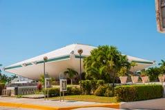 Palacio Legislativo La costruzione dell'assemblea legislativa in Campeche San Francisco de Campeche, Messico Immagini Stock Libere da Diritti