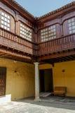 Palacio Lercaro, San Cristobal de La Laguna royaltyfria bilder