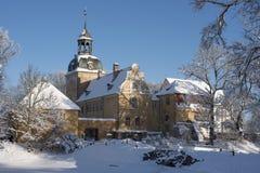 Palacio Lielstraupe en Letonia Imagen de archivo libre de regalías