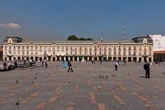 palacio lievano της Μπογκοτά Κολομβία Στοκ Εικόνες