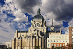 palacio madrid реальное Стоковые Изображения