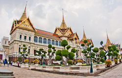 Palacio magnífico, Bangkok Foto de archivo libre de regalías