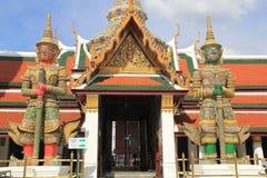 Palacio magnífico Bangkok del guarda del demonio Fotos de archivo libres de regalías