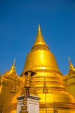 Palacio magnífico Bangkok Stupa de oro y templos religiosos THAILLAND Fotografía de archivo libre de regalías