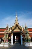 Palacio magnífico Bangkok Tailandia. Foto de archivo libre de regalías