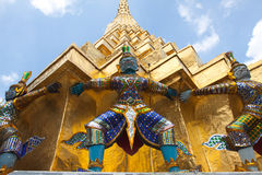 Palacio magnífico Bangkok Tailandia Imagenes de archivo