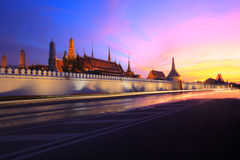 Palacio magnífico Bangkok Tailandia Imagen de archivo libre de regalías
