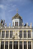Palacio magnífico de Bruselas, Bélgica Foto de archivo libre de regalías